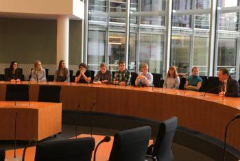 Schülergruppe des Gymnasiums Osterholz zu Besuch in Berlin
