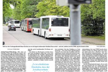 Schuld am Bus-Chaos haben die anderen