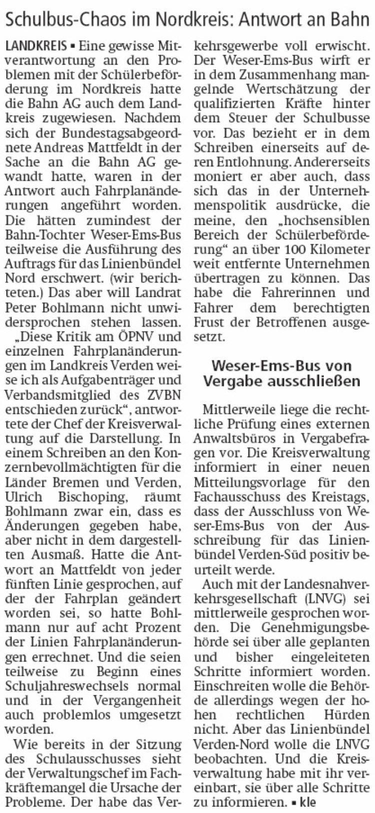 """""""Landkreis nicht Teil des Problems"""""""