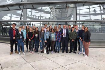 Gudewill-Schüler erkunden den Bundestag