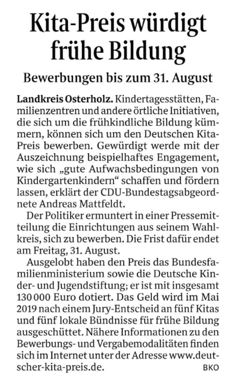 Deutscher Kita-Preis
