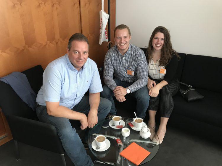 Deutsch-amerikanisches parlamentarisches Patenschaftsprogramm (PPP):  Ehemaliger PPPler aus Hambergen zu Besuch bei mir im Deutschen Bundestag