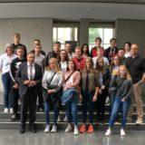 Ausflug in die Bundespolitik: Langwedeler Oberschüler zu Besuch in Berlin
