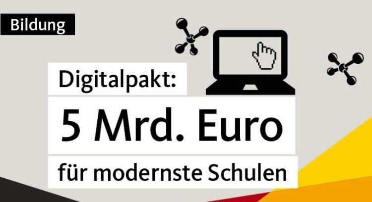 Digitalpakt: 470 Millionen Euro fließen nach Niedersachsen