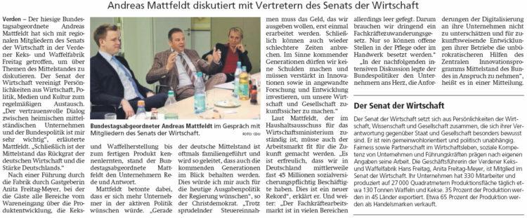 """""""Mittelstand ist die Stärke Deutschlands"""""""