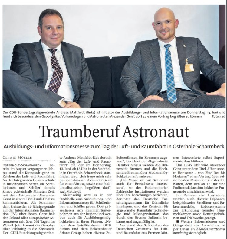 Tag der Luft- und Raumfahrt in Osterholz-Scharmbeck