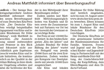 Deutscher Kita-Preis 2020