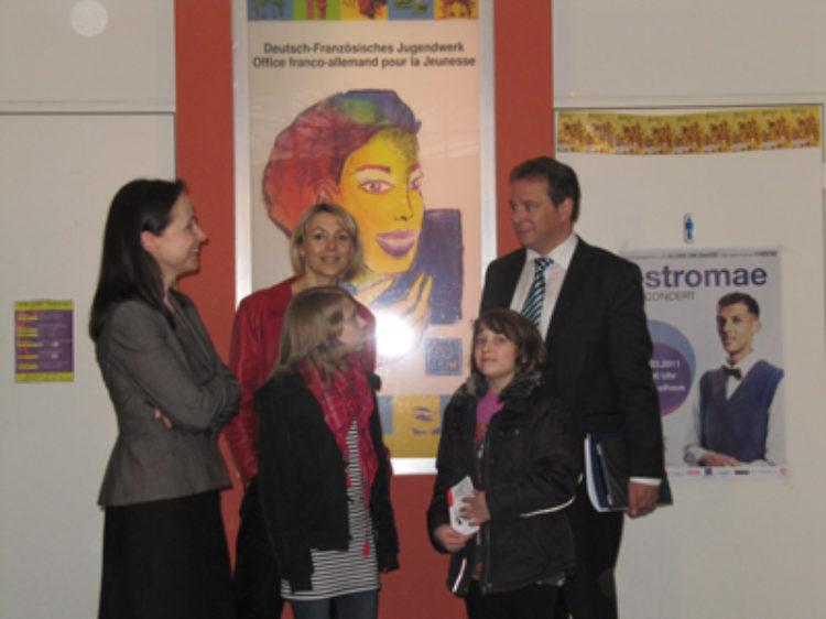Besuch beim Deutsch-Französischen Jugendwerk
