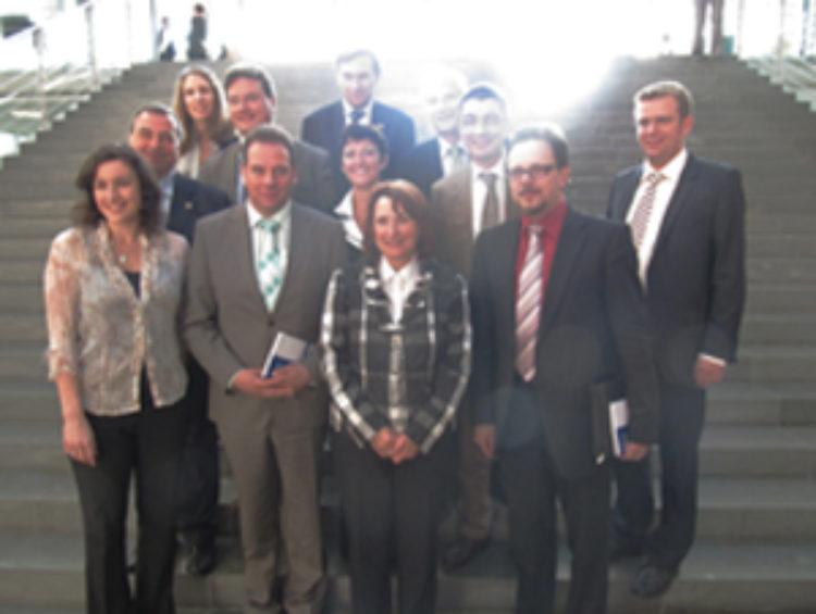 Treffen zwischen jungen französischen und jungen deutschen Abgeordneten