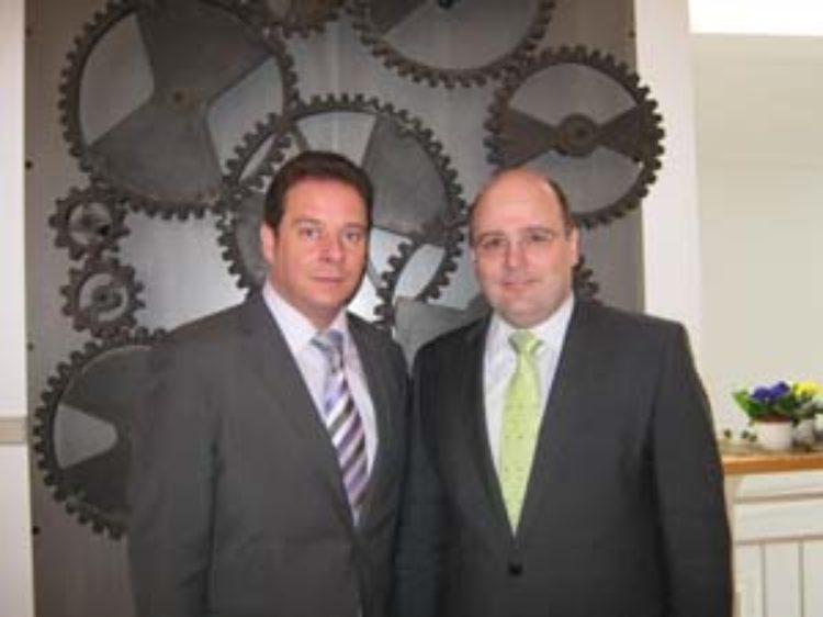 Lätare Spende mit Staatssekretär Steffen Kampeter