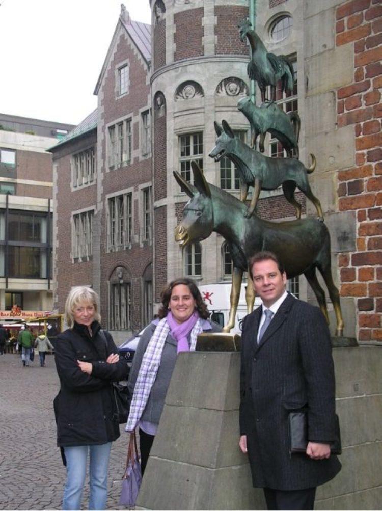 Besuch des Berliner Teams im Wahlkreis