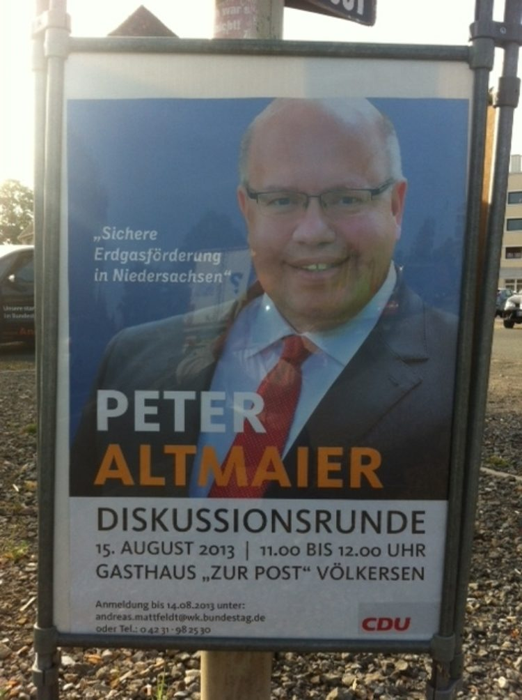 Bundesminister Altmaier in Völkersen