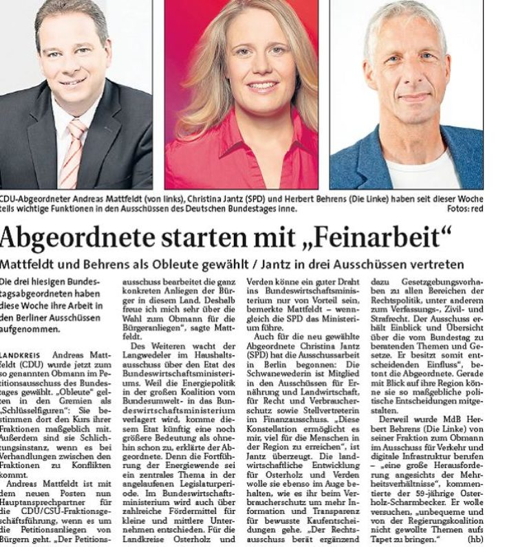 Hamme Report vom 19.1.2014