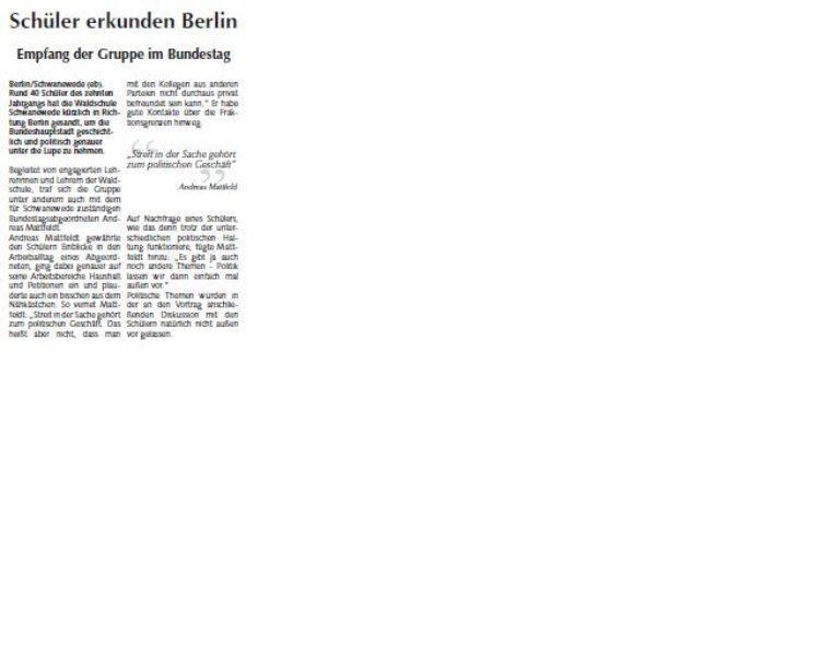 Osterholzer Anzeiger 12.02.2014