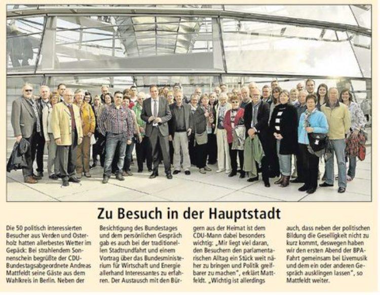 Kreiszeitung vom 6. Mai 2015
