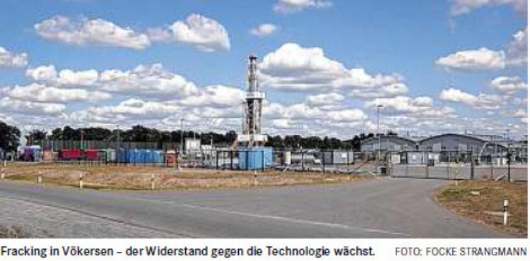 Streitpunkt Fracking-Gesetz