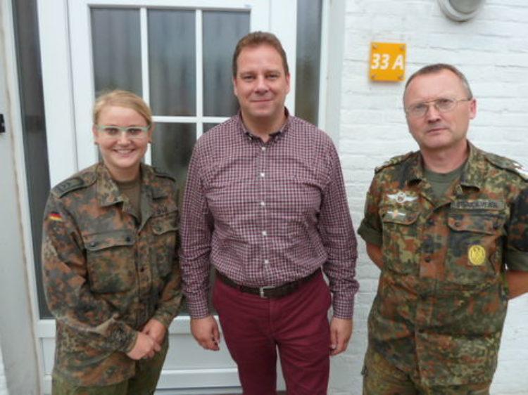 Im Gespräch mit der Soldatenvertretung Garlstedt-Schwanewede