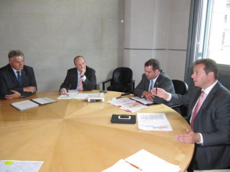 Stromleitung SuedLink: Gespräch mit Verteidigungsministerium