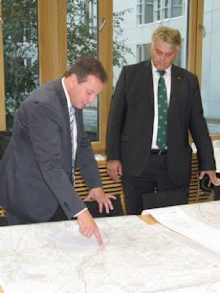 Ablehnung der Bundeswehr für Stromtrassenverlauf über Randbereich Truppenübungsplatz