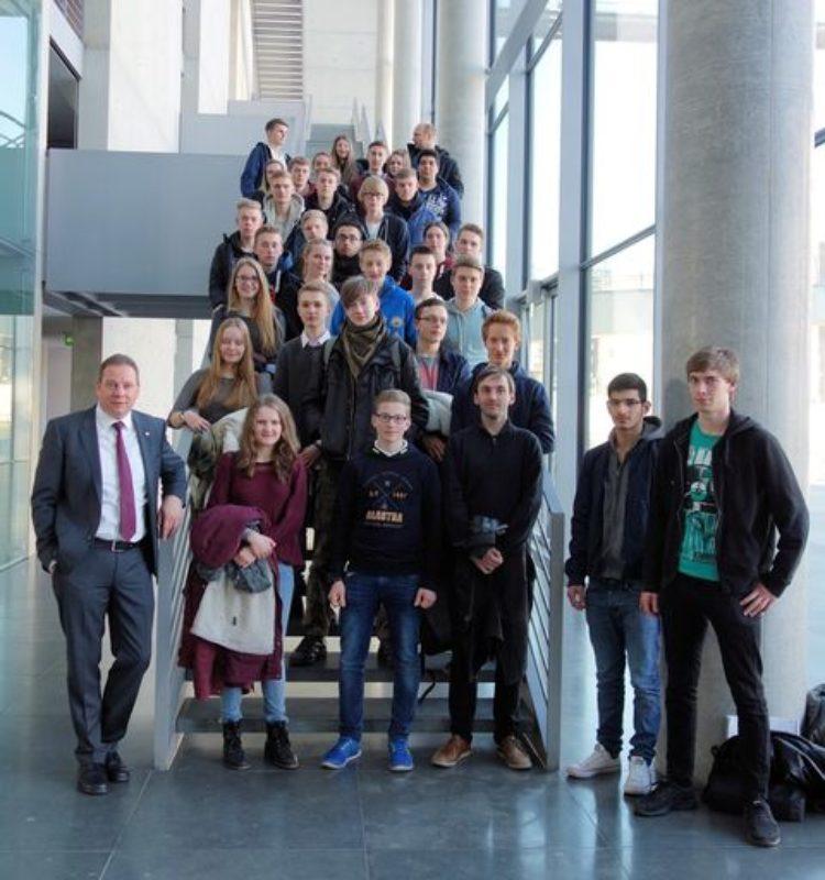 Lilienthaler Gymnasiasten besuchen das politische Berlin