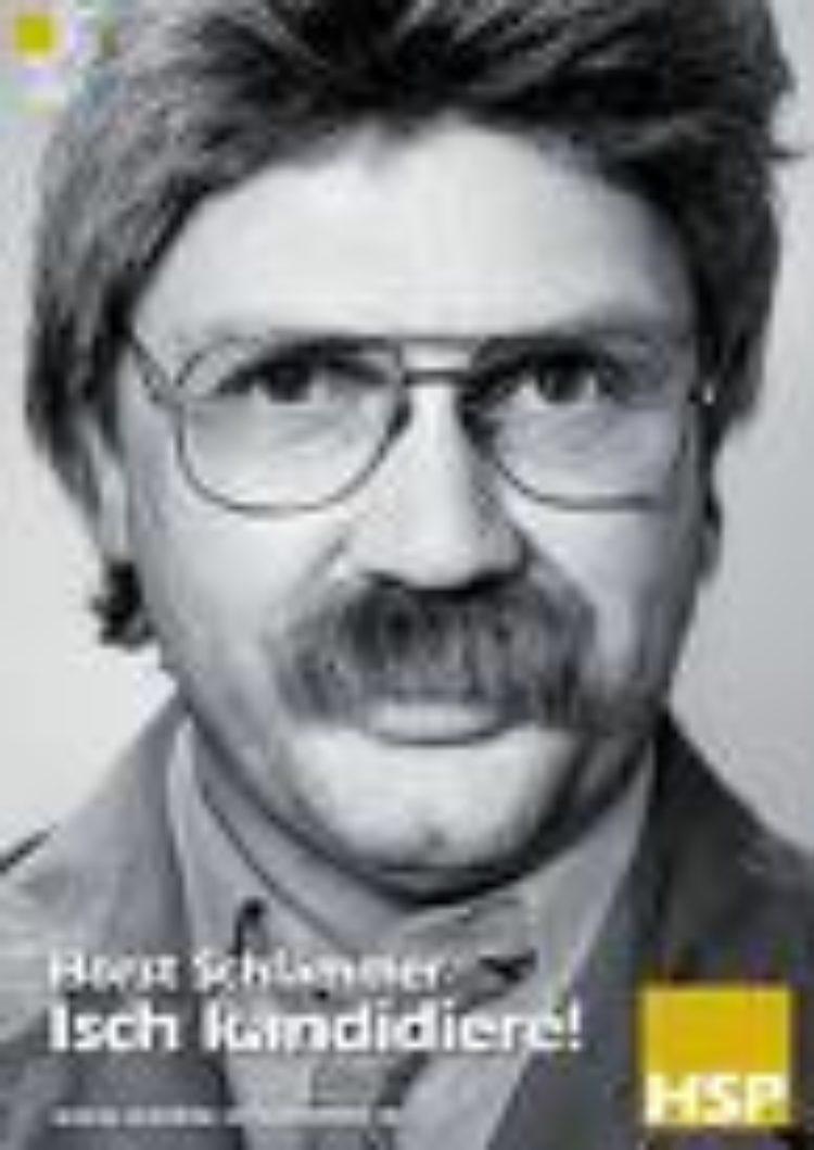 Horst Schlämmer als Bundeskanzler