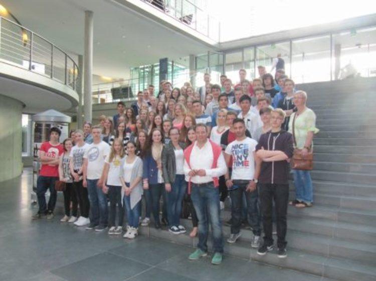 Schülergruppe des Domgymnasiums in Berlin