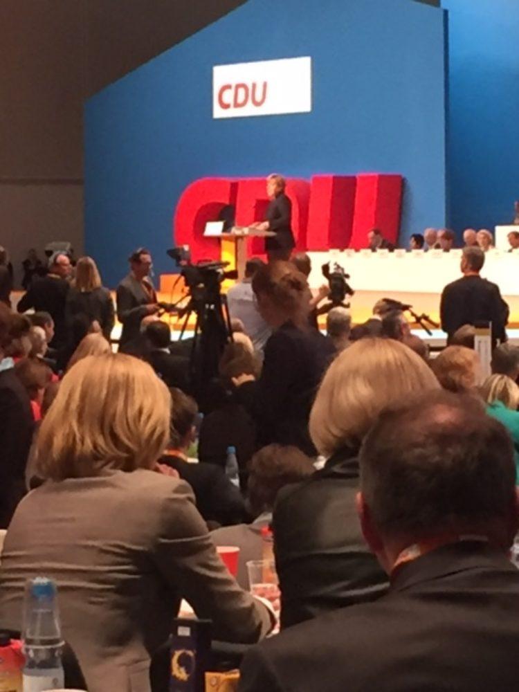 Zu Besuch beim Bundesparteitag in Karlsruhe