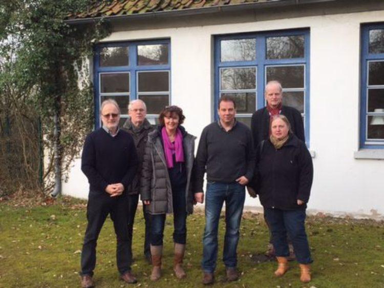 Treffen mit Verein für Kultur und Geschichte Daverden