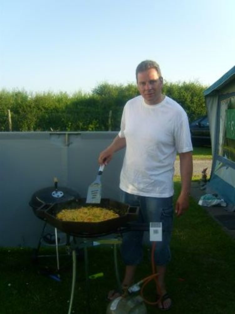 Im Urlaub bin ich der Koch