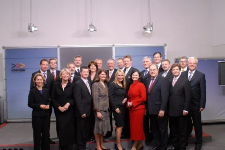 Erste Arbeitsgruppensitzungen der CDU/CSU-Fraktion hinter mich gebracht