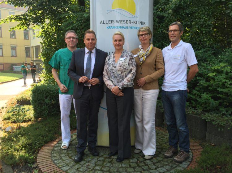 Zu Besuch in der Aller-Weser-Klinik