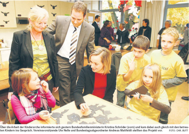 Bundesfamilienministerin in Etelsen