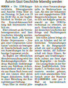 PM zu F. Klier