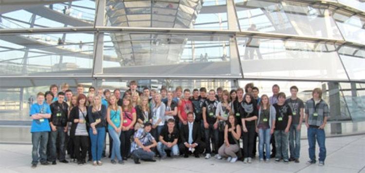 Schulen machen sich auf nach Berlin