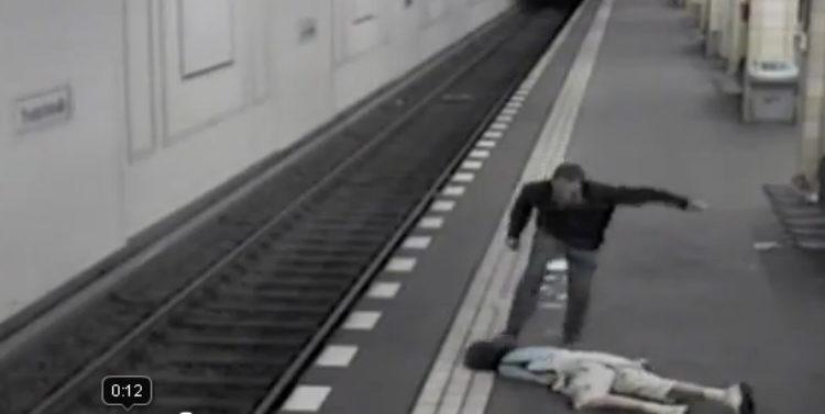 Entsetzt über Brutalität im Bahnhof Friedrichstraße