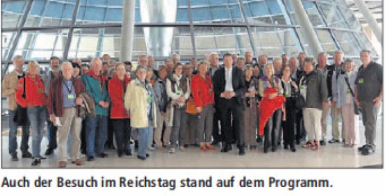 CDU Senioren-Union besucht Hauptstadt