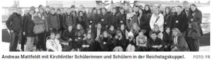 Kirchlintler Schüler sehen sich in Berlin um