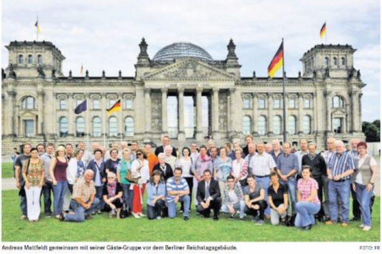 Besuch in der Bundeshauptstadt mit Reichstagsführung