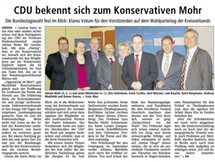 CDU-Kreisparteitag