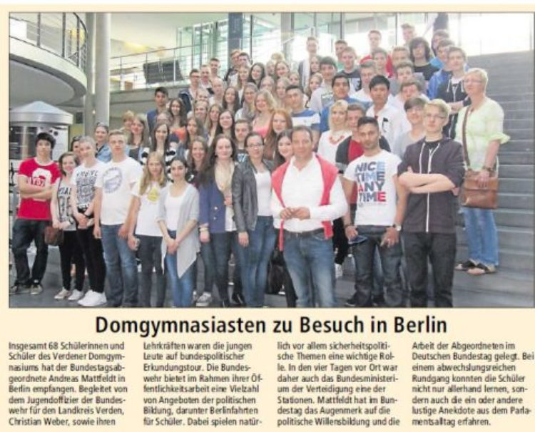 Domgymnasiasten in Berlin