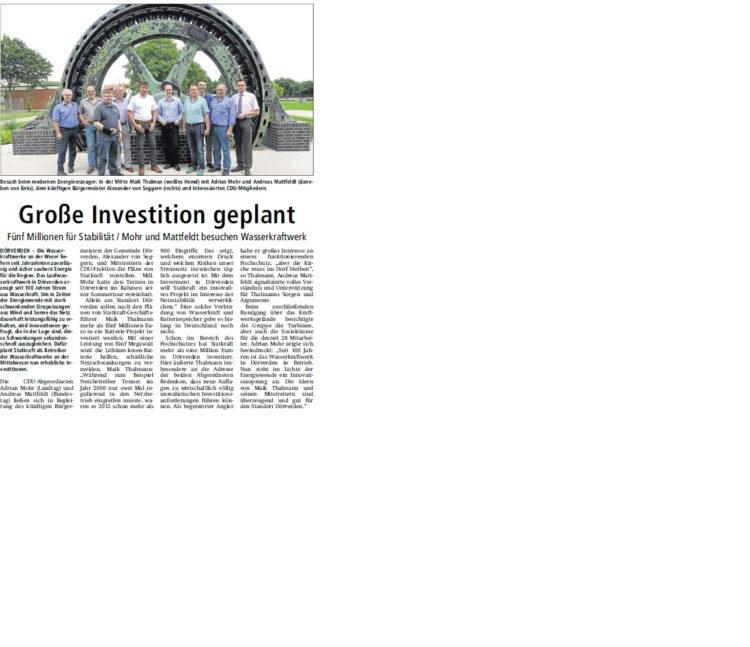 Verdener-Aller-Zeitung vom 19.07.2014