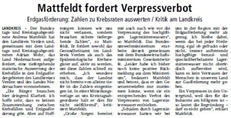 Verdener-Aller-Zeitung vom 14.10.14