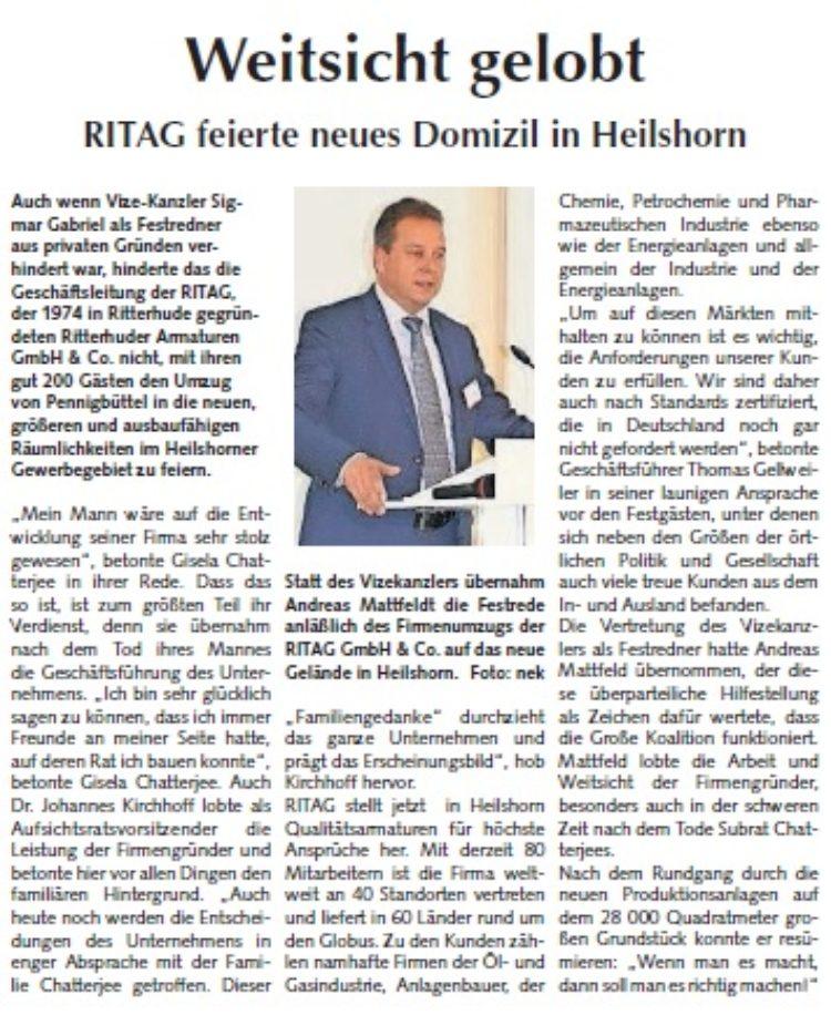 Osterholzer Anzeiger vom 25.10.2015