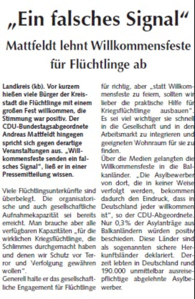 Osterholzer Anzeiger vom 04.10.2015