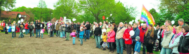 "700 Demonstranten fordern ""No Fracking"""