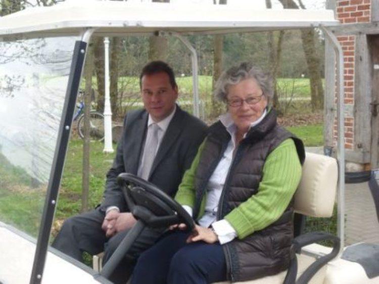 Besuch im Golfclub Lilienthal