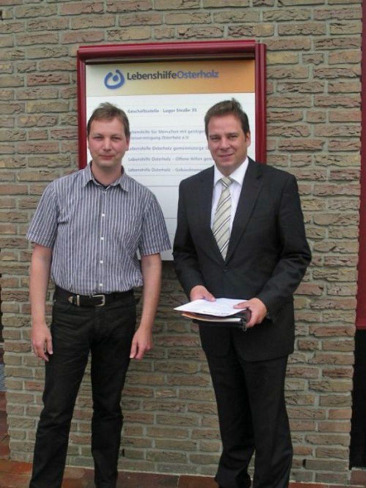 Besuch in Osterholz – Scharmbeck